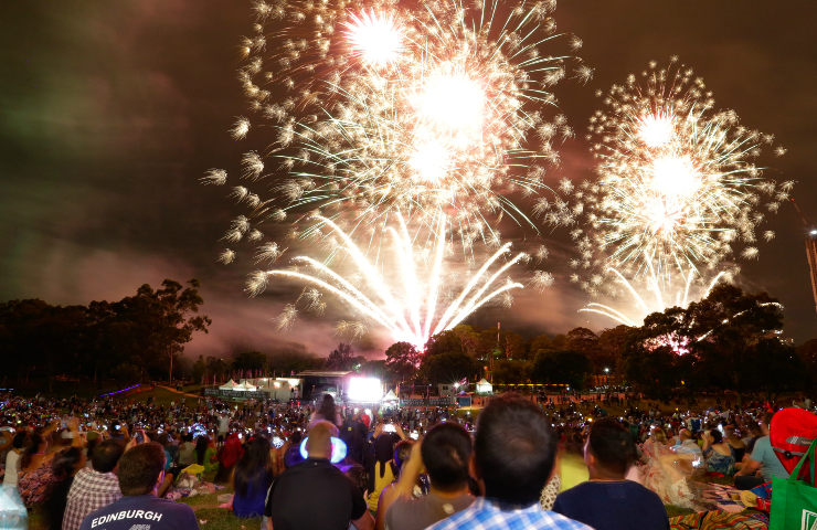New Years Eve Crescent Summer Series Parramatta Park